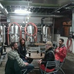 Photo taken at Upright Brewing by Michael B. on 1/17/2013