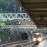 Photo taken at 金谷駅 (Kanaya Sta.) by fukuyoshi2944 on 7/24/2013