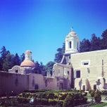 Photo taken at Ex Convento del Desierto de los Leones by Karla M. on 10/8/2012