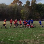 Photo taken at Cherokee Park Frisbee/Rugby Field by JJ on 11/2/2013