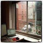 Photo taken at Percolate NYC by Kunur P. on 6/10/2013