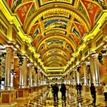 Photo taken at The Venetian Macau Resort 威尼斯人度假村 by Nathan M. on 12/23/2012