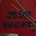 Photo taken at Sushi Nakay by Rafael F. on 4/8/2012