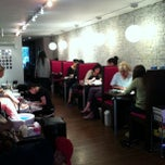 Photo taken at Blush Nail Lounge by Grays T. on 3/30/2013