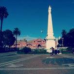 Photo taken at Plaza de Mayo by Leonardo Pablo Gonzalo Z. on 2/22/2013