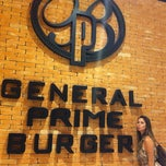 Photo taken at General Prime Burger by Maria Paula Z. on 3/3/2013