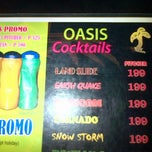 Photo taken at Oasis Bar and Grill by Drey S. on 3/1/2013