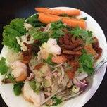 Photo taken at SriPraPhai Thai Restaurant by Khin Thin Zar A. on 7/4/2013