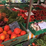 Photo taken at Marché Helvétique (Rive) by Cedric A. on 7/26/2014