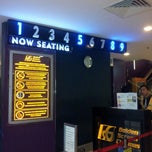 Photo taken at Golden Screen Cinemas (GSC) by Nicolez T. on 2/28/2013