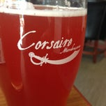Photo taken at Corsaire Microbrasserie by Sebastien T. on 7/22/2013
