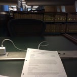 Photo taken at Catherwood Library - ILR by Quentin__Ma on 1/25/2014