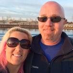 Photo taken at St. Joseph North Pier (at Tiscornia Park) by Jenni B. on 3/14/2015