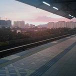 Photo taken at RapidKL Wangsa Maju (KJ3) LRT Station by Khidhir on 6/8/2013