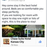 Photo taken at Chase Suite Hotel By Woodfin by Maddison B. on 3/8/2014