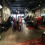 Photo taken at John Varvatos Bowery NYC by Katie B. on 4/12/2013
