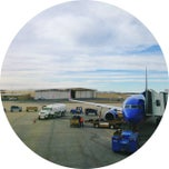 Photo taken at Gate B5 by Stephanie D. on 1/14/2014