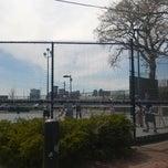Photo taken at Harborwalk East Boston by Josie K. on 4/21/2014