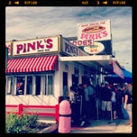 Photo taken at Pink's Hot Dogs by Kevin C. on 10/6/2012