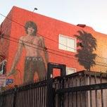 Photo taken at Jim Morrison Mural by Dima B. on 9/13/2014