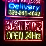 Photo taken at Sushi Kingz by Stuart H. on 10/11/2012
