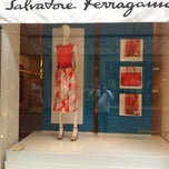 Photo taken at Salvatore Ferragamo by Alessandro F. on 5/11/2013