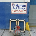 Photo taken at Harlem Self Storage by Marvin W. on 7/31/2013