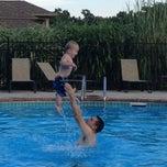 Photo taken at Five Oaks Pool by Patricia L. on 8/3/2013