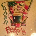 Photo taken at Cuban Pete's by Dan S. on 7/2/2013