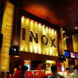 Photo taken at INOX Movies by Kalidas C. on 9/21/2012