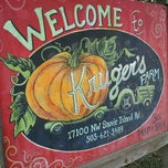 Photo taken at Kruger's Farm Market by She A. on 10/21/2012