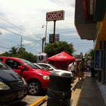 Photo taken at Oxxo Burgos by Alex L. on 7/27/2013