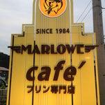 Photo taken at プリンショップ & カフェ マーロウ (MARLOWE) 逗葉新道店 by Satomi on 6/1/2013