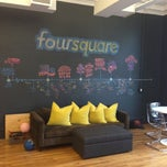 Photo taken at Foursquare HQ by Rus Y. on 7/2/2013