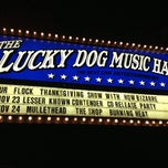 Photo taken at Lucky Dog Music Hall by Tyler on 11/24/2012