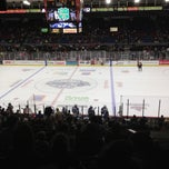 Photo taken at Syracuse Crunch Hockey Club by Jeff M. on 10/28/2012