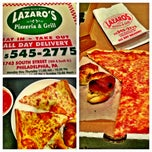 Photo taken at Lazaros Pizza House by Visit Philly on 11/13/2012
