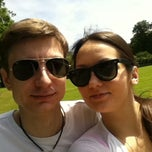 Photo taken at Golders Hill Tennis Courts by Maria N. on 6/30/2013