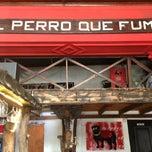 Photo taken at Cafe y Bar el Perro que Fuma by Juan C. on 4/23/2013