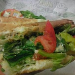 Photo taken at SUBWAY by Stephen M. on 4/27/2013