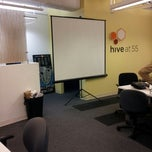 Photo taken at Hive at 55 by Pope P. on 9/24/2012