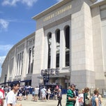 Photo taken at Yankee Stadium by Lina B. on 7/14/2013