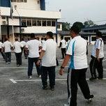 Photo taken at Ibupejabat Polis Daerah Pekan by Ashley N. on 6/26/2014