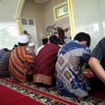 Photo taken at Masjid Nurul Iman TVRI by Hamdi on 3/21/2014