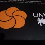 Photo taken at Ume by Simone G. on 5/18/2013