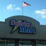 Photo taken at Sparkymart by Trina Beana on 11/10/2013