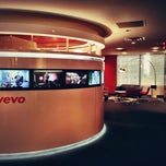Photo taken at VEVO by Rio C. on 1/8/2013