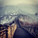 Photo taken at 慕田峪长城 Great Wall at Mutianyu by Olly S. on 3/21/2013