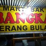 Photo taken at Martabak Bangka by Stayland ruus on 10/6/2012