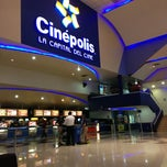 Photo taken at Cinépolis by 🎀Lillie ®®🎀 on 1/30/2013